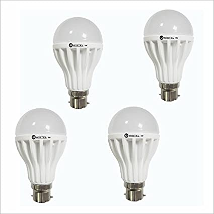 Qwistel-3W-(Pack-of-2)-&-5W-(Pack-of-2)-810-lumens-White-Led-Bulb