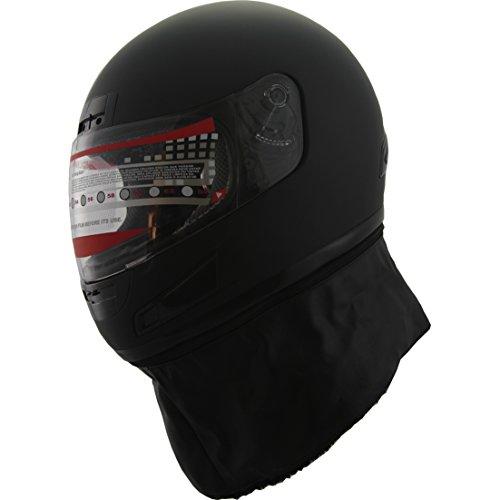 DOT Full Face Motorcycle Sports Bike Helmet 898_c Matt Black (M)