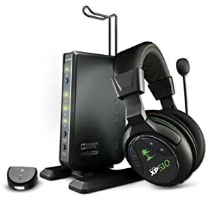 Turtle Beach Ear Force XP510 Premium Wireless Dolby Digital PS4, PS3, Xbox 360 Gaming Headset