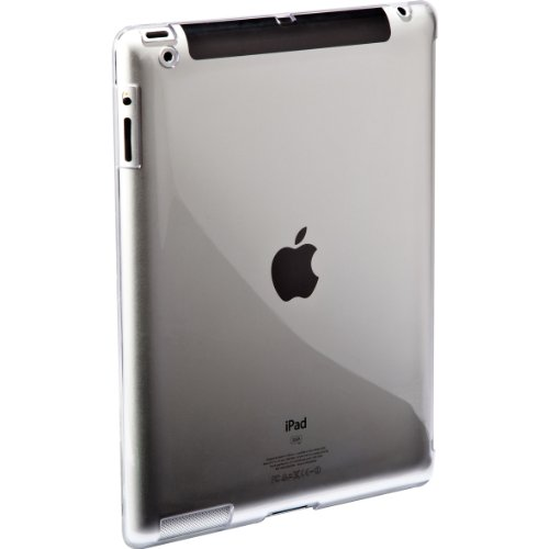 Targus Back Cover for New iPad 3 Compatible with Apple Smart Cover - Transparent