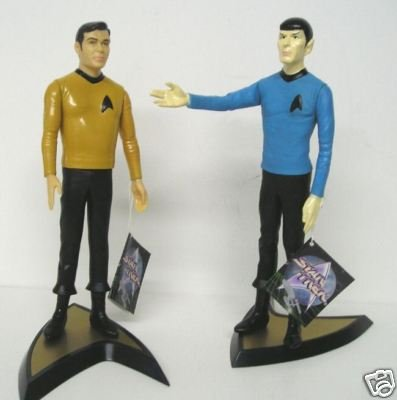 Picture of Applause Star Trek Kirk and Spock Set of 2 Action Figures from Hallmark Presents Applause (B001I8ULW0) (Star Trek Action Figures)