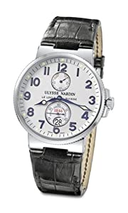 Ulysse Nardin Men's 263-66 Maxi Marine Divers Silver Dial Watch