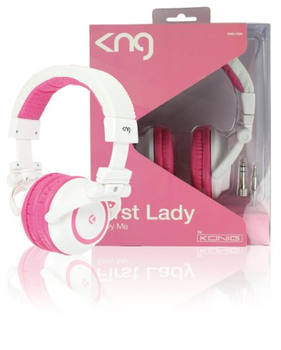 KNG First Lady Envy Me Designer High Quality Headphones - Pink