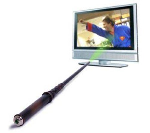 Magic Wand Remote Control  Geek Armory ~ Tv Wand Control