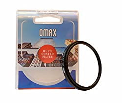 Omax 52mm Multi-Coated UV Filter For Nikon 18-55mm Lens
