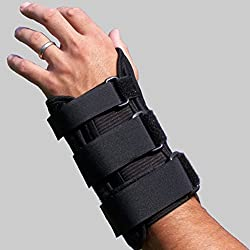 Alpha Medical L.L.C. Padded Carpel Tunnel Wrist Brace & Hand Support Splint (X-Large: Left Hand)