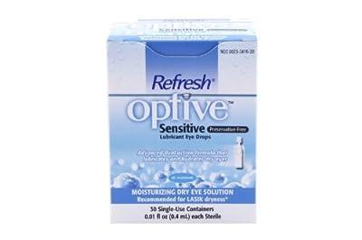 Optive Sensitive Preservative-Free Lubricant Eye Drops 30 ea