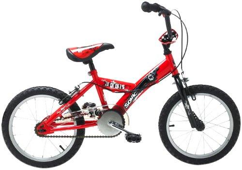 Sonic Boom Boys Bike - 16 Inch