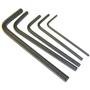 BSD 1.3mm 1.5mm 2.0mm 2.5mm 3mm 4mm Allen Key Tool Set Hex