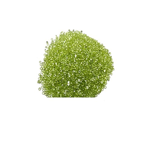 Natural Peridot Aaa Quality Loose Gemstone 1 Mm Faceted Round 100 Pieces Lot From Dashrath International front-1079632