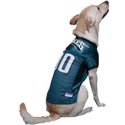NFL Philadelphia Eagles Midnight Green Mesh Pet Football Jersey