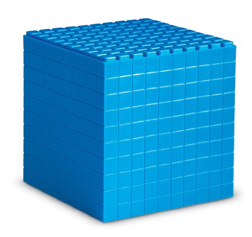 Learning Resources Interlocking Base Ten - Cube