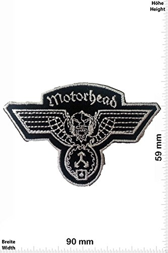 Patch - Motörhead - Motorbike - Motorsport - Motorcycles - Biker - toppa - applicazione - Ricamato termo-adesivo - Give Away