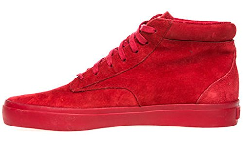 Radii Mens Basic High Top Mens Shoes (11, Red/Red)