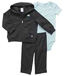 Carter\'s Baby Boys\' 3 Pc Cardigan Set  - Grey Turtle -  3 Months