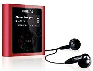 philips gogear raga 8gb mp3 player red. Black Bedroom Furniture Sets. Home Design Ideas