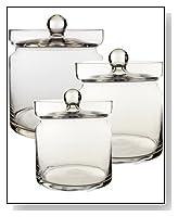 Apothecary Jar Set of 3