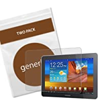 Generiks Screen Protector Film for Samsung Galaxy Tab 10.1 - (2 Pack ) Diamond