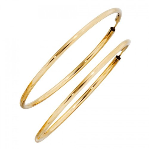 Creolen 333/-G goldene Kreolen gold Creolen gold 333 gelbgold Ohrringe gold