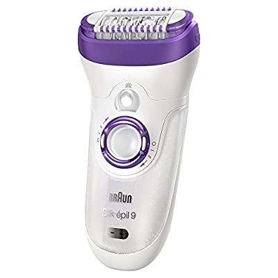 Braun 99561 Silk Epil Wet and Dry Cordless Epilator for Women (Multicolor)