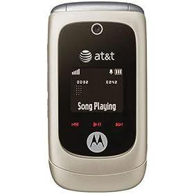 Motorola EM330 Phone, Titanium (AT&T)