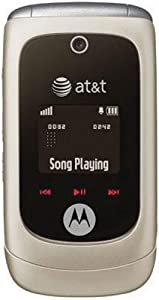 Motorola EM330 No Contract MP3 FM Radio GSM Phone AT&T