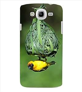 ColourCraft Bird and nest Design Back Case Cover for SAMSUNG GALAXY MEGA 5.8 I9150