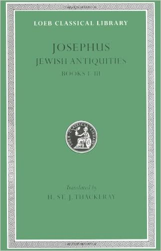 Josephus: Jewish Antiquities (Books 1-3) written by Josephus
