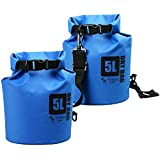 The Friendly Swede 500D PVC Tarp Dry Bag (2 Pack)