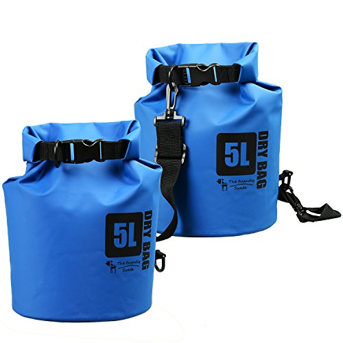 The Friendly Swede 500D PVC Tarp Dry Bag (2 Pack),