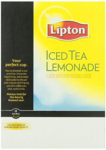 New Lipton Iced Tea Lemonade Keurig K-Cups, 22 Count (Pack of 4)