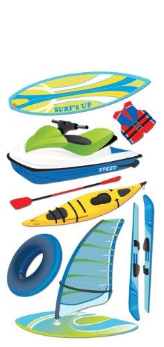 Jolee's Water Sports Stickers