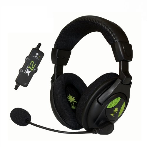 Turtle-Beach-Ear-Force-X12-Arctic-Amplified-Stereo-Gaming-Headset-Xbox-360