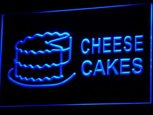 Adv Pro I483-B Cheese Cakes Shop Cafe Ad Adv Nr Neon Light Sign