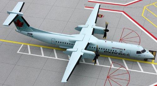 1: 200 ジェミニジェット Air Canada Dash 8-400 エクスプレス (並行輸入)