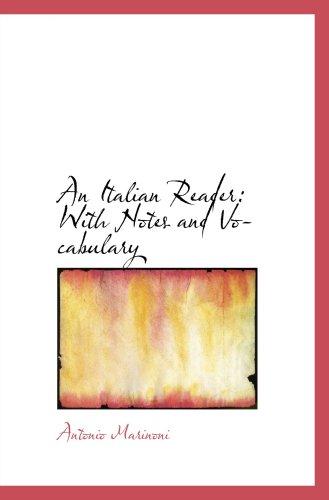 Un lector Italiano: Con las notas y vocabulario