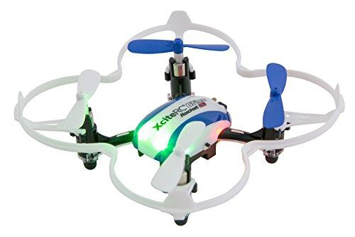 XciteRC-15008050-Ferngesteuerter-RC-Quadrocopter-Drohne-Rocket-65XS-3D-4-Kanal-RTF-blauwei