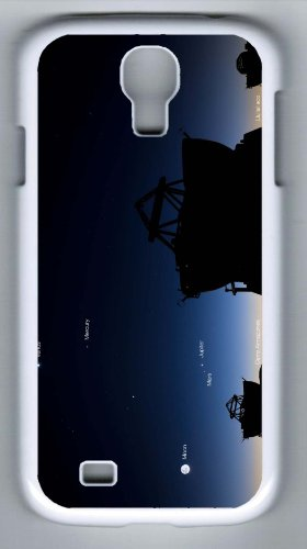 Personalized Custom Samsung Galaxy S4 Pc White Hard Case Telescope Hot Sell Cover