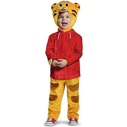 [Daniel Tiger Deluxe Costume - Toddler Small] (Daniel Tiger Deluxe Costumes For Toddlers)