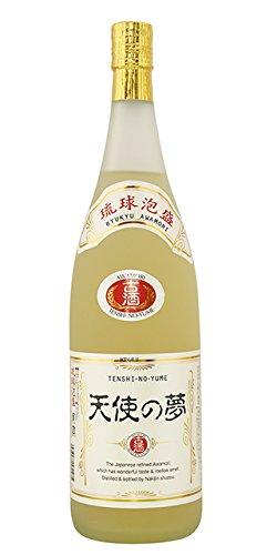 泡盛 天使の夢 3年 古酒 一升瓶 25度 1800ml (有)今帰仁酒造
