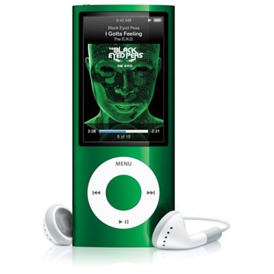 apple-ipod-nano-8-gb-green-5th-generation-discontinued-by-manufacturer