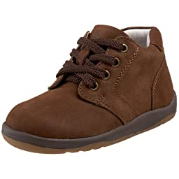 Willits Infant/Toddler Baby Bootie Oxford,Brown Nubuck,6.5 XW US Toddler