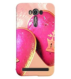 FurnishFantasy Designer Back Case Cover for Asus Zenfone 2 Laser ZE550KL