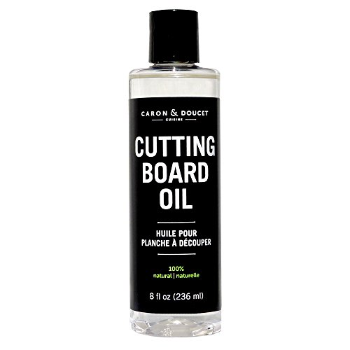 Caron & Doucet - Coconut Cutting Board Oil & Butcher Block Oil - 100% Plant Based, Made From Refined Coconut Oil, Does Not Contain Petroleum (Mineral Oil). (8oz Plastic) (Butcher Block Oil Organic compare prices)