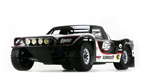 Team Losi 1/5 5IVE-T 4WD Bind-N-Drive Off-Road Truck: White