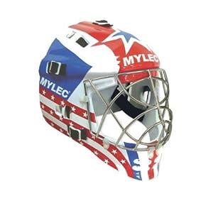 Mylec® Ultra Pro II Goalie Mask - Black (PR) by Mylec