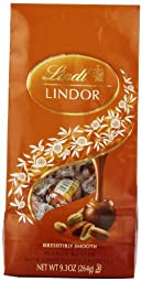 Lindt LINDOR Peanut Butter Milk Chocolate Truffles ,9.3  Ounce