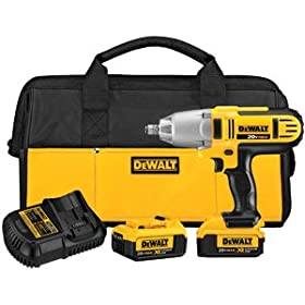 DEWALT DCF889HM2 20-volt MAX Lithium Ion 1/2-Inch High Torque Impact Wrench with Hog Ring