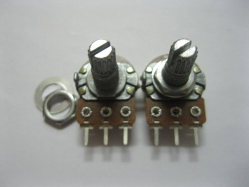 250 Pcs B1K Potentiometer Pots Tone control 15mm Shaft S Skywalking