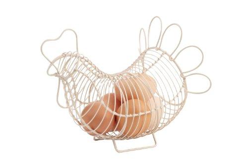 T G &Provence Crème Petit Panier à œufs en forme de poulet